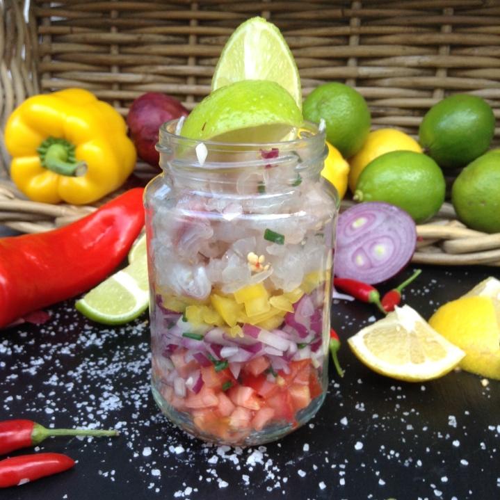 Ceviche de Dourada, comida peruana, marinada, receita, comida saudável, saúde, bem estar, comer bem