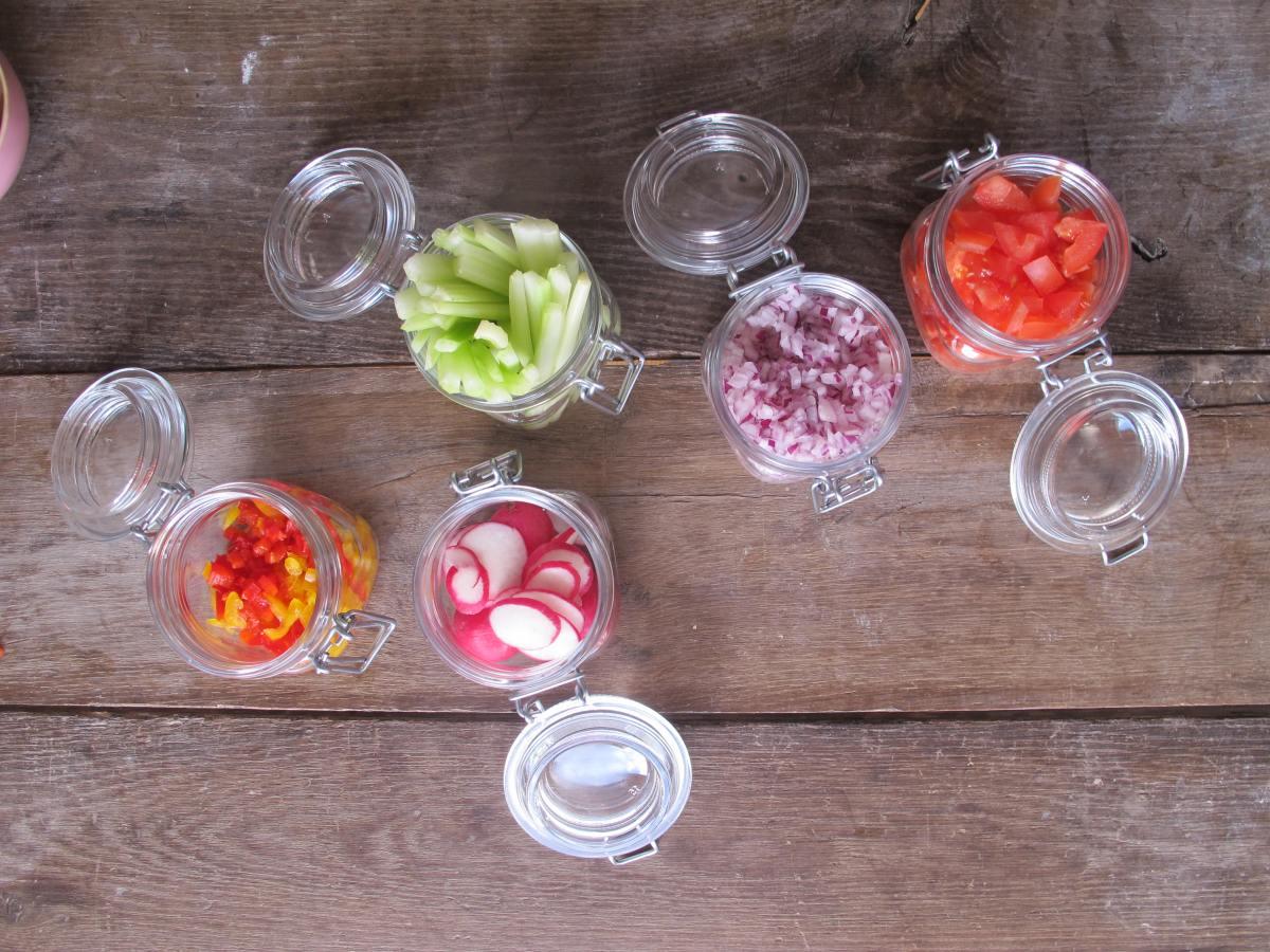 10 truques para trabalhar com alimentos Crus