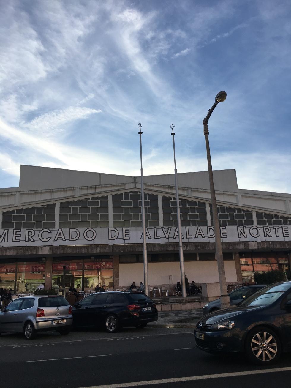 Lisboa. Mercado de Alvalade. By cru com pinta.