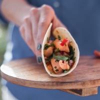 Aquele momento perfeito | Taco de ceviche de salmão