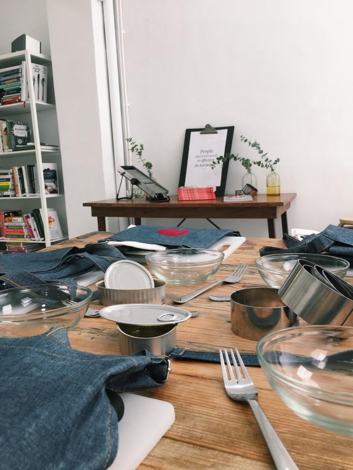 Workshop cru com jantar