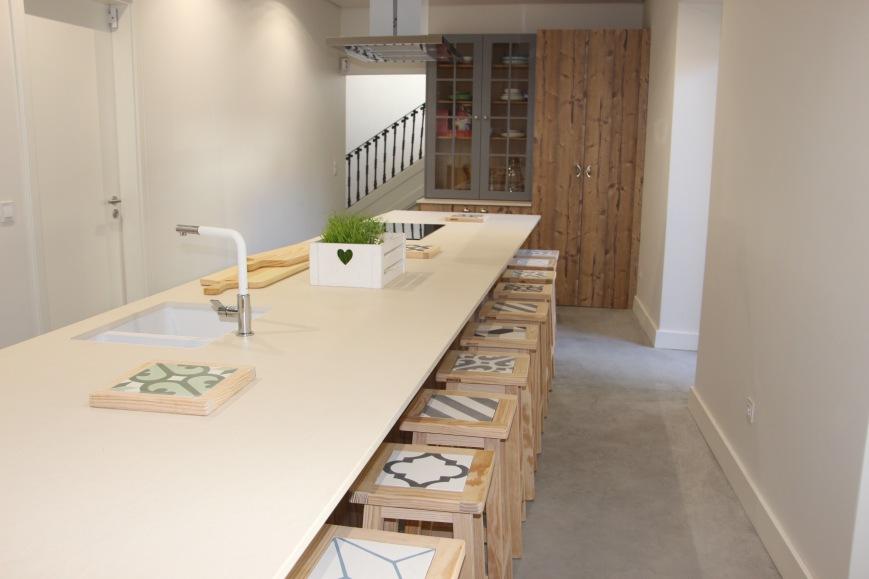 Cru Kitchen. Cozinha para partilha de experiências em Belém.
