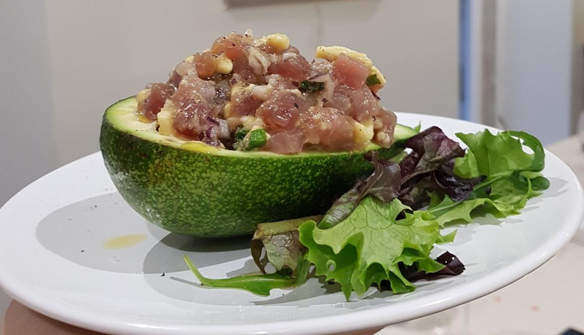 Tártaro de Atum com abacate