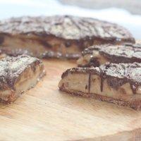 Tarte de Caramelo e Chocolate