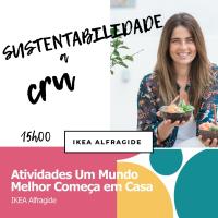 Agenda. Sustentabilidade a CRU na cozinha.